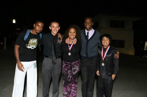 ISBL 2014 Scholarship Recipient 2014 & Friends